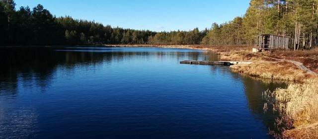 Äntligen är sjörna isfria.